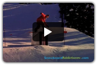 How To Frontside Boardslide (Goofy): Snowboard Addiction
